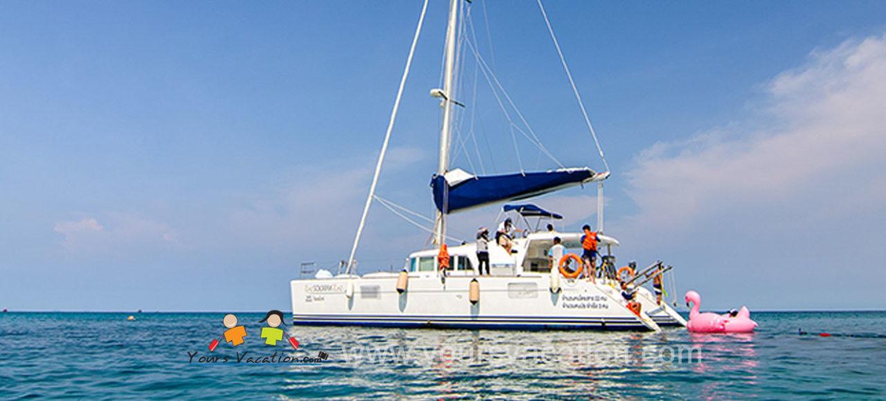 ทัวร์เกาะไม้ท่อน เรือคาตามารัน เรือใบ