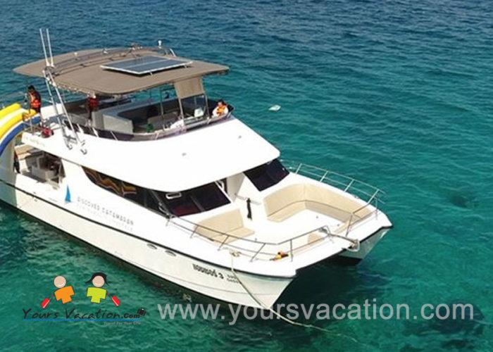ทัวร์เกาะไม้ท่อน เกาะราชาน้อย Sunset Dinner เรือ Power Catamaran