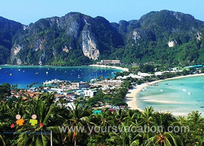 ทัวร์เกาะพีพี วิวพอยท์ เกาะไข่ เกาะไม้ท่อน 1 วัน เรือสปีดโบ๊ท