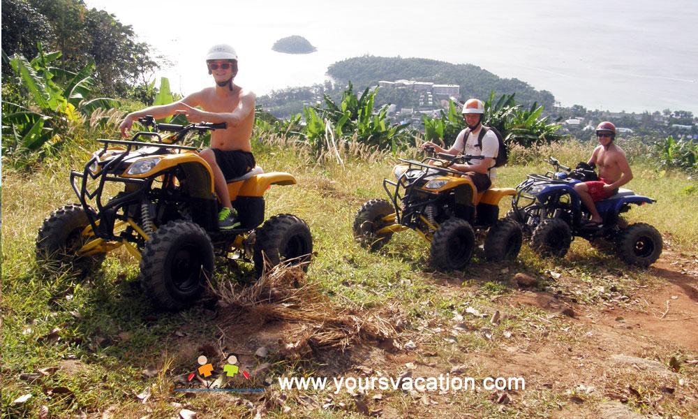 ทัวร์ขับรถเอทีวี ชมธรรมชาติ (ATV Tour)