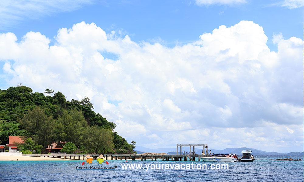 ทัวร์เกาะไม้ท่อน 1 วัน เรือสปีดโบ๊ท