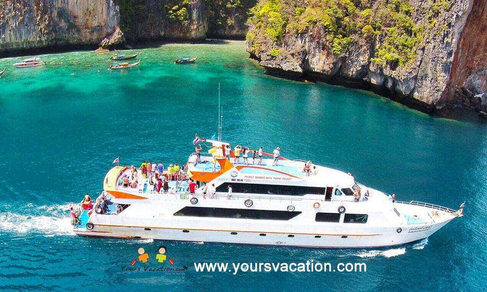 ทัวร์เกาะพีพี เกาะไผ่ เรือใหญ่