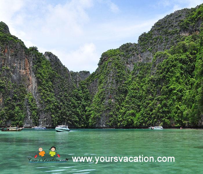 ทัวร์เกาะพีพี เกาะไผ่(แบมบู) 1 วัน เรือสปีดโบ๊ท