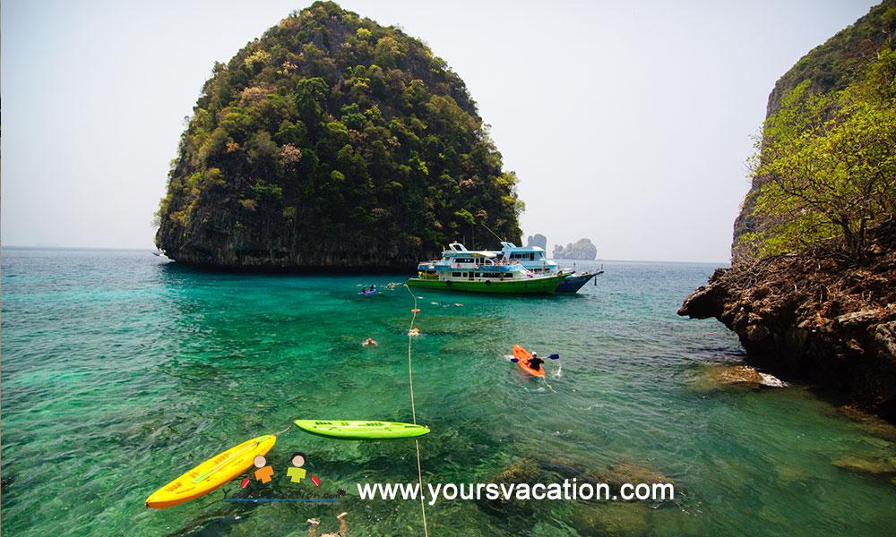 ทัวร์เกาะพีพี เรือซีแองเจิ้ล บียอนด์