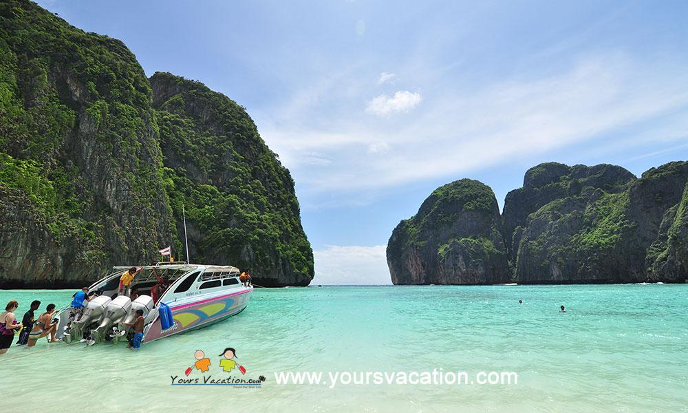 ทัวร์เกาะพีพี เกาะไข่ 1 วัน เรือสปีดโบ๊ท